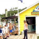 Education curator takes summer camp students to Potters Seafood Market