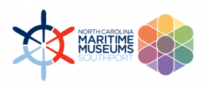 nc maritime museum at southport and frank harr foundation logos